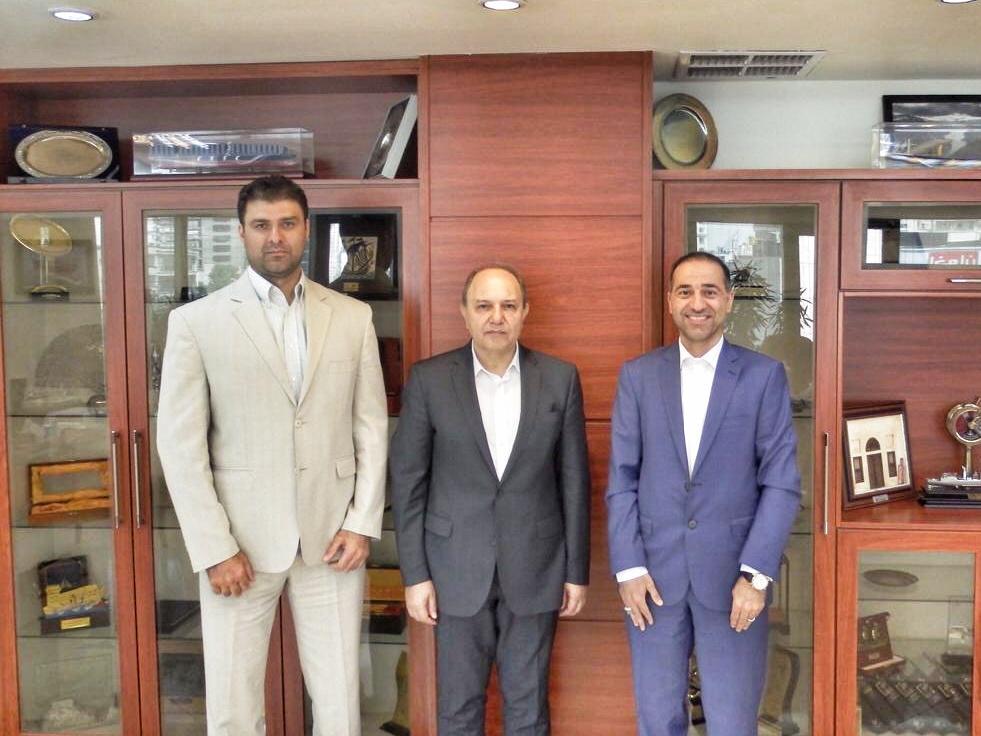 دیدار رئیس فدراسیون قایقرانی با مدیرعامل کشتیرانی جمهوری اسلامی