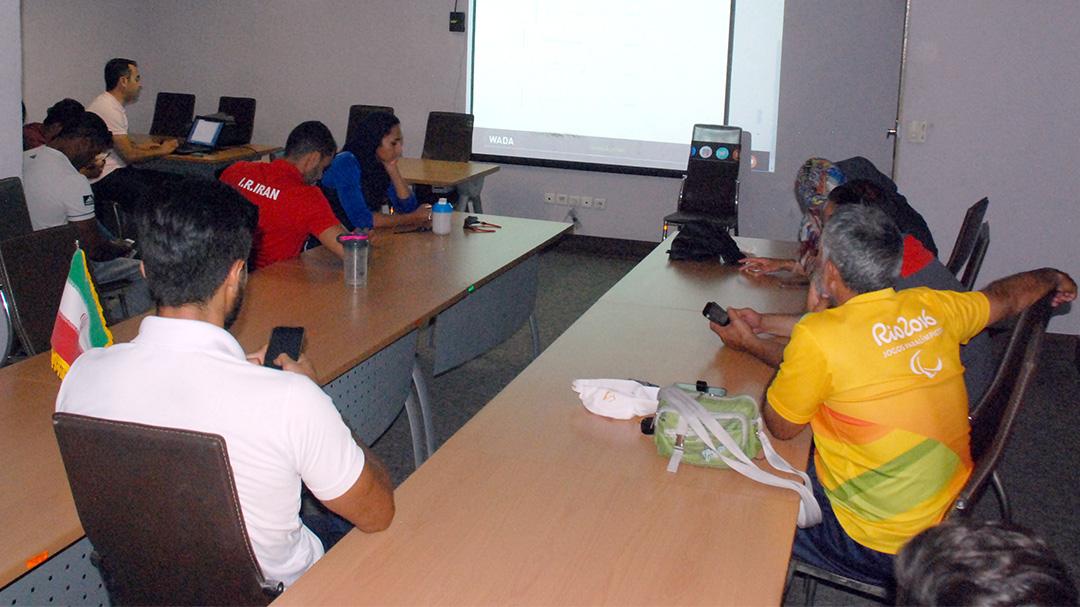 دوره آموزشی دوپینگ زیر نظر سازمان جهانی مبارزه با دوپینگ برگزار شد