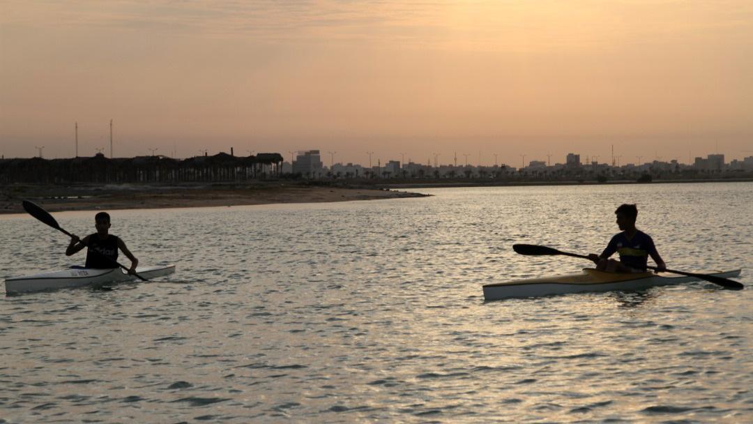 مسابقات المپیاد ورزشی استعدادهای برتر قایقرانی بوشهر برگزار شد