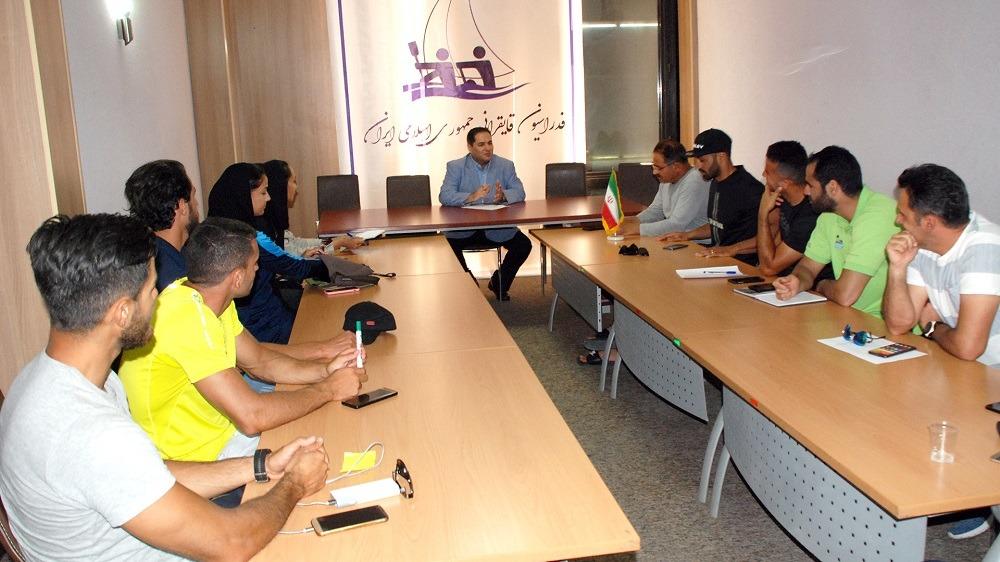 کارگاه جایگاه ذهن در پرورش ورزشکاران حرفه ای در فدراسیون قایقرانی برگزار شد