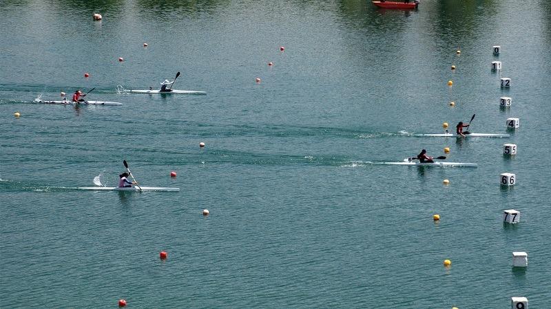 مسابقات قهرمانی کشور آبهای آرام در دریاچه آزادی برگزار می شود