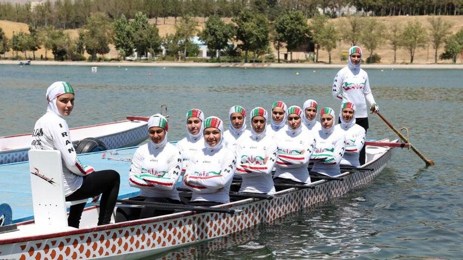تیم مردان در 200 متر هفتم و تیم بانوان هشتم جهان شدند