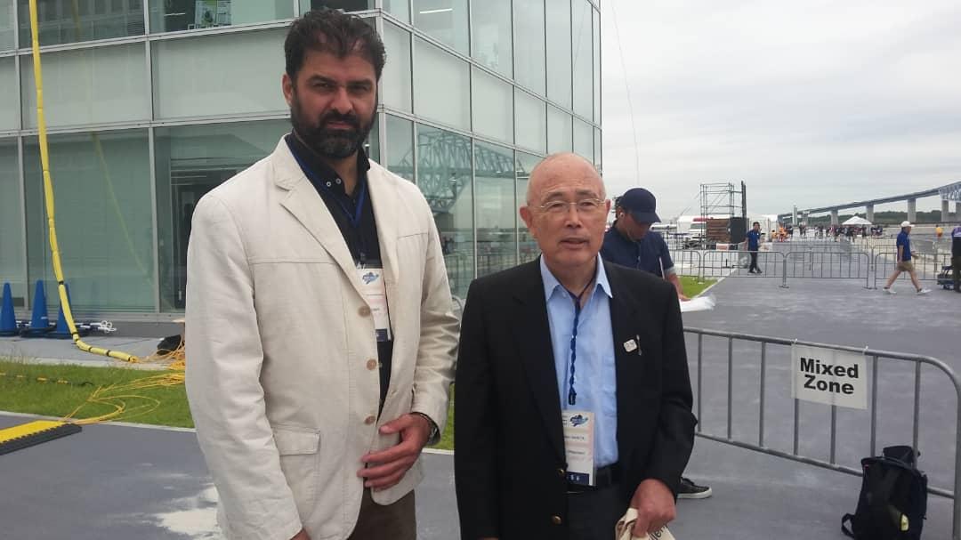 دیدار علیرضا سهرابیان با رئیس و دبیرکل کنفدراسیون کانوئینگ آسیا