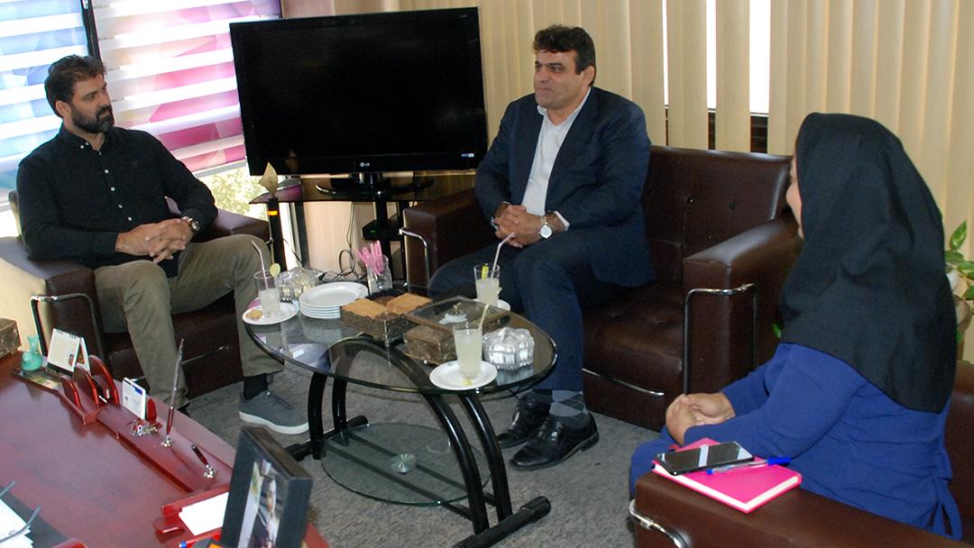 دیدار مدیرکل ورزش و جوانان استان البرز با رئیس فدراسیون قایقرانی