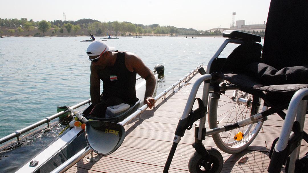 مسابقات قهرمانی کشور آبهای آرام معلولین برگزار می شود