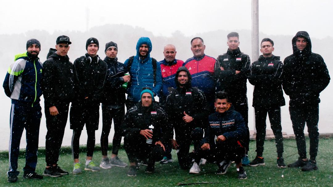اردوی تیم ملی قایقرانی عراق در دریاچه آزادی