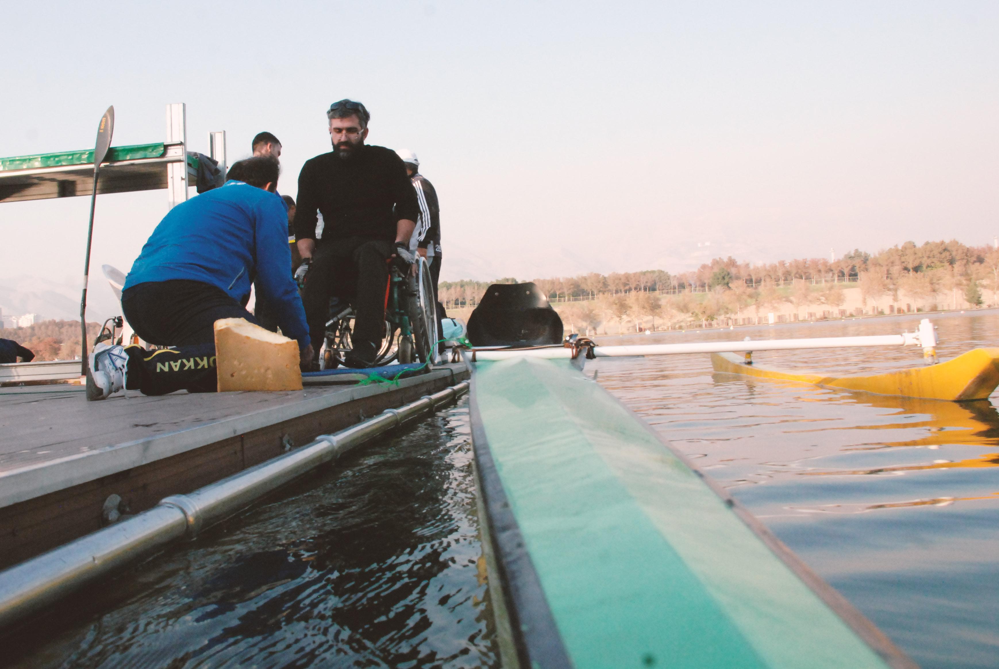 تیم ملی پاراکانو از فردا در دریاچه آزادی به آب می زند