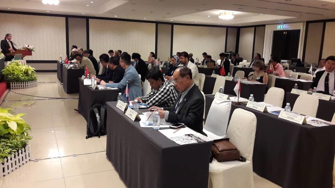 کنگره کانوئینگ آسیا/ گزارش سهرابیان درباره وضعیت قایقرانی و آغاز طرح تحقیق و پژوهش در ایران
