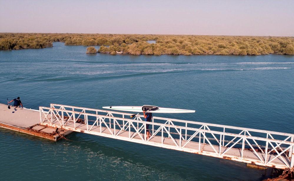 پایان اردوی تیم ملی آبهای آرام ایران در جزیره قشم