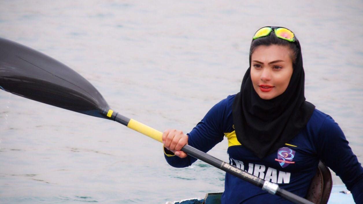 سارا عبدالملکی: هدفم در قایقرانی رسیدن به پارالمپیک است